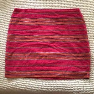 Cotton Skirt, patterned stitch